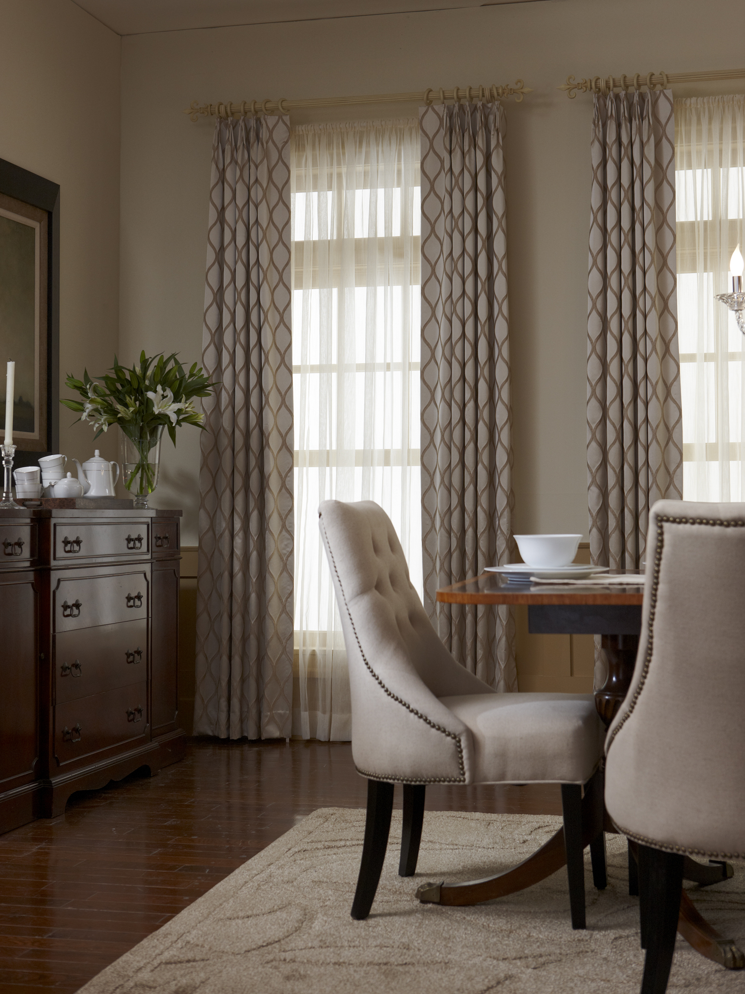 Custom Drapery Images And Curtain Photos Proctor Drapery